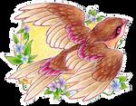 ACEO songbird