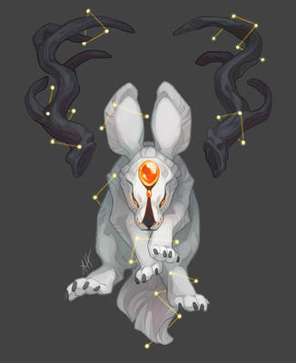Jackalope Constellations by soulwithin465