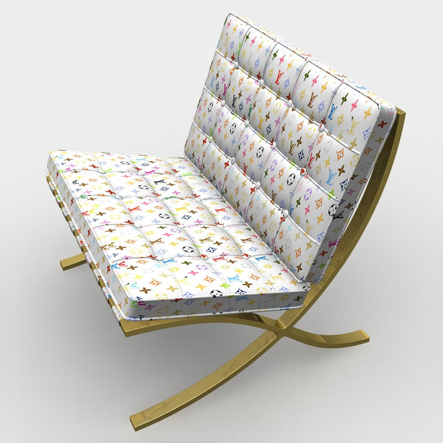 Barcelona Chair Louis Vuitton By Lunpi ...