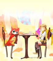 Tea Time by tamakkun