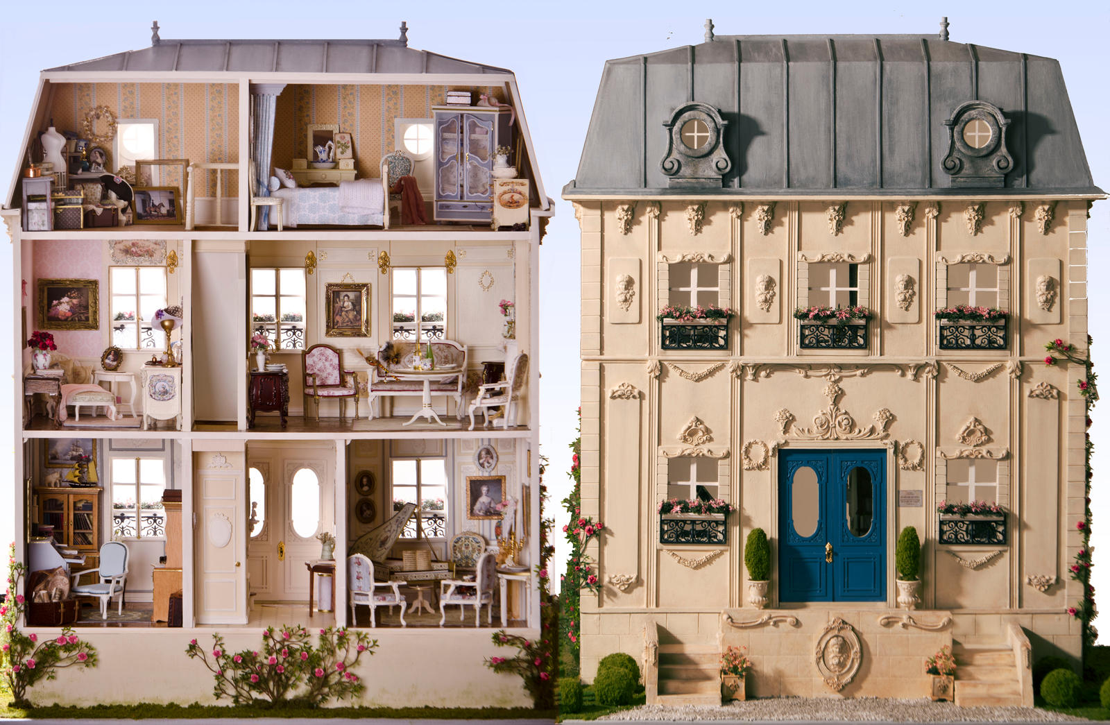 My French House By Srkminiature On Deviantart