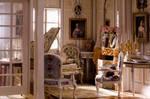 the miniature music room