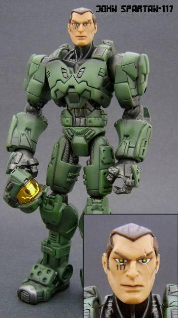 Master Chief Revealed By Jin Saotome On Deviantart