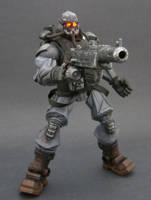 Helghast Soldier Custom Figure by Jin-Saotome