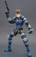 Solid Snake 3 by Jin-Saotome