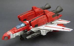 Jetfire Jet mode 1 by Jin-Saotome