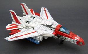 Jetfire Jet mode 2 by Jin-Saotome