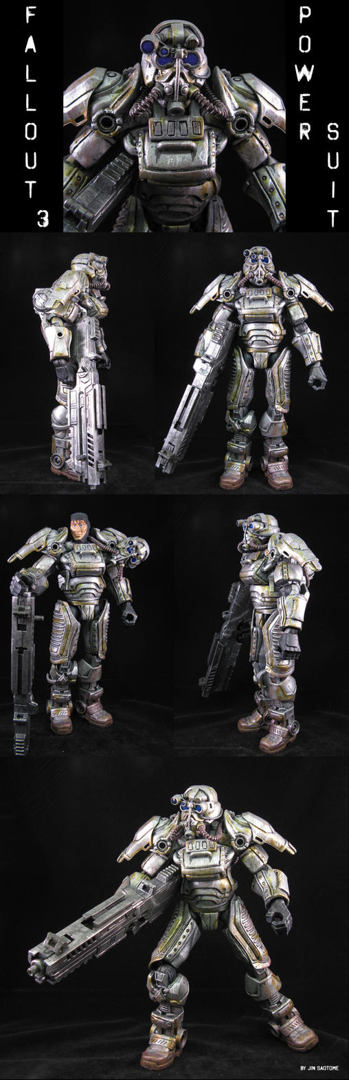Fallout 3 Power Suit by Jin-Saotome