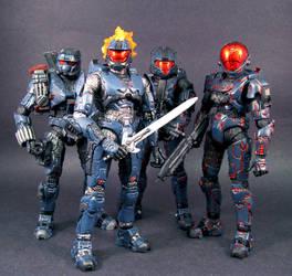 Team Phantom Group by Jin-Saotome