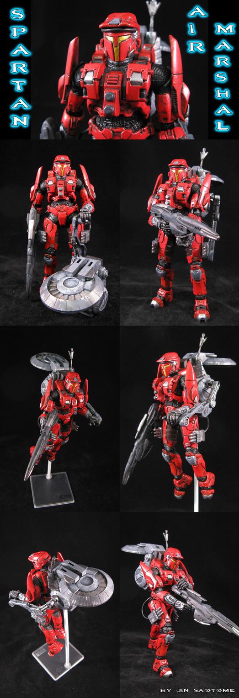 Spartan Air Marshal by Jin-Saotome