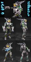 Halo 3 Spartan Jumpsuit