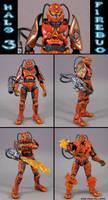 Halo 3 Spartan Firebug by Jin-Saotome
