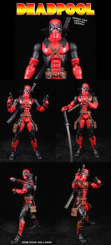 Deadpool Suit Design