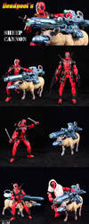 Deadpool's Sheep Cannon by Jin-Saotome
