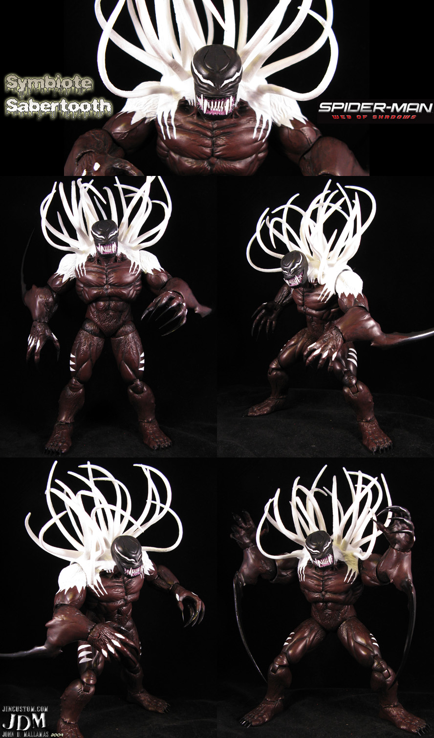 Symbiote Sabertooth by Jin-Saotome on DeviantArt