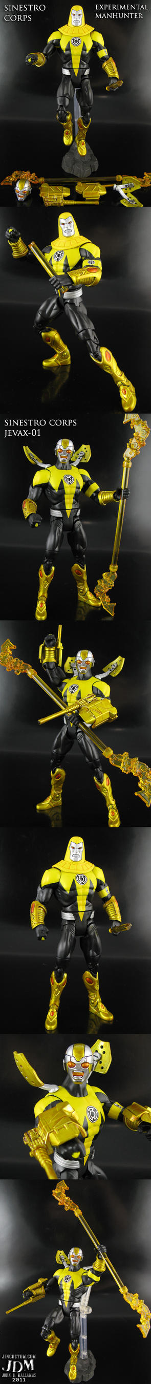 Sinestro Corps Manhunter by Jin-Saotome