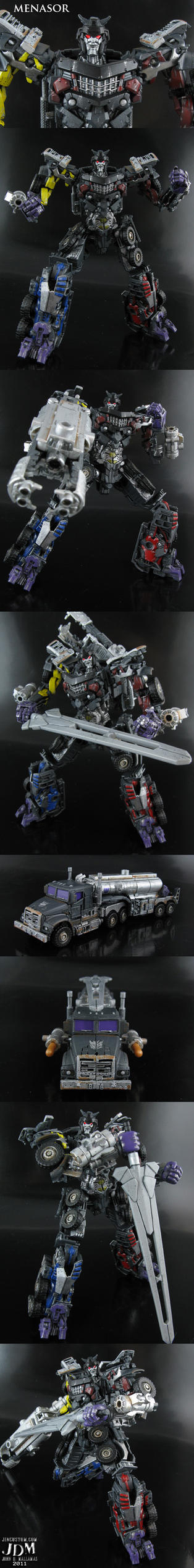 Menasor the uncombiner by Jin-Saotome