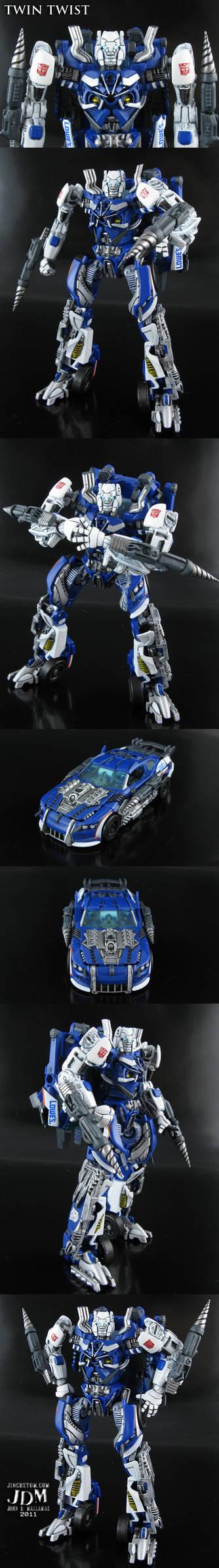 Transformers Twin Twist
