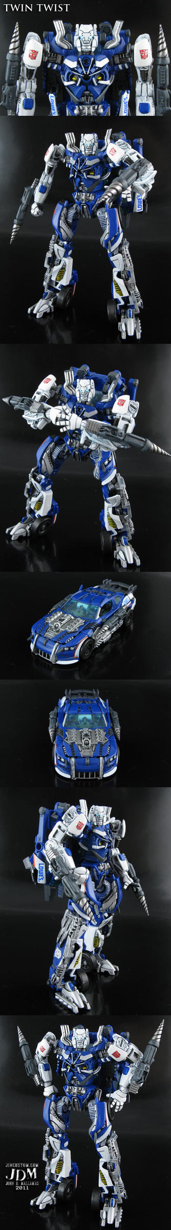 Transformers Twin Twist by Jin-Saotome