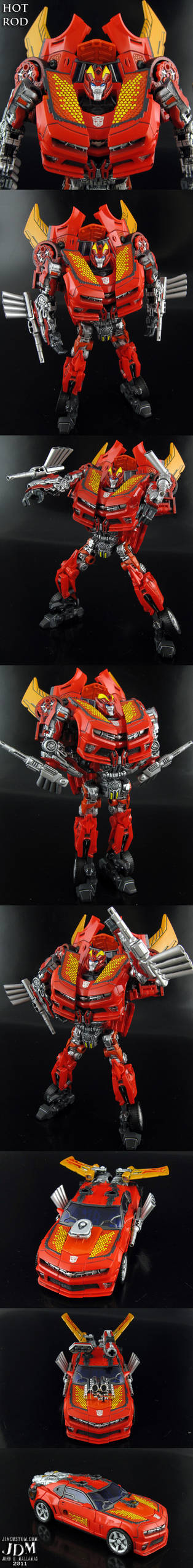 Transformers DotM Hot Rod