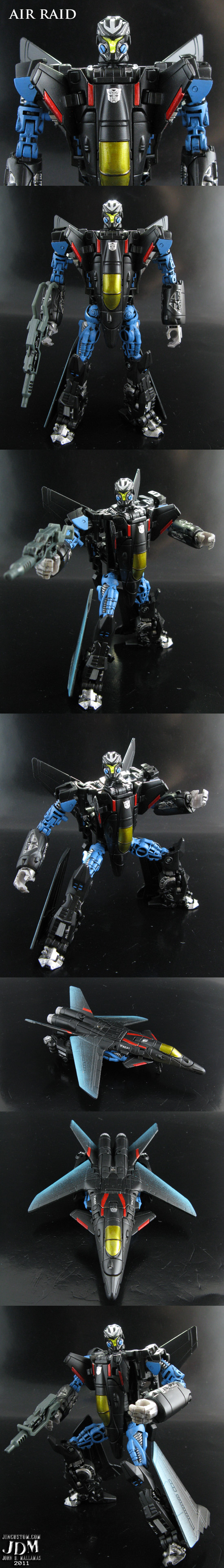 Cyberjet Air Raid by Jin-Saotome