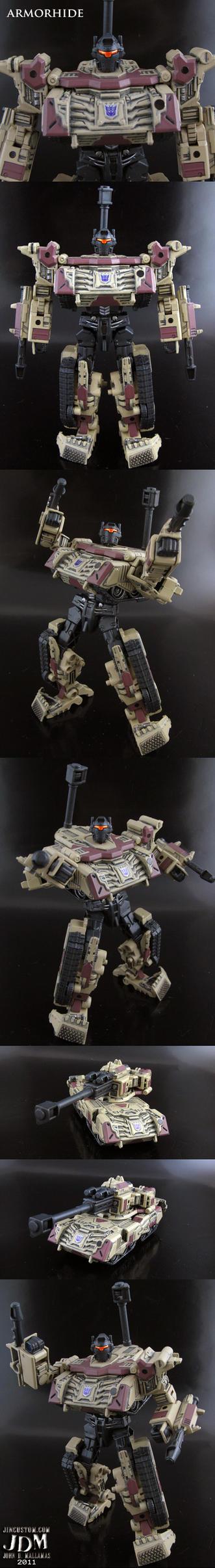 Decepticon Armorhide by Jin-Saotome