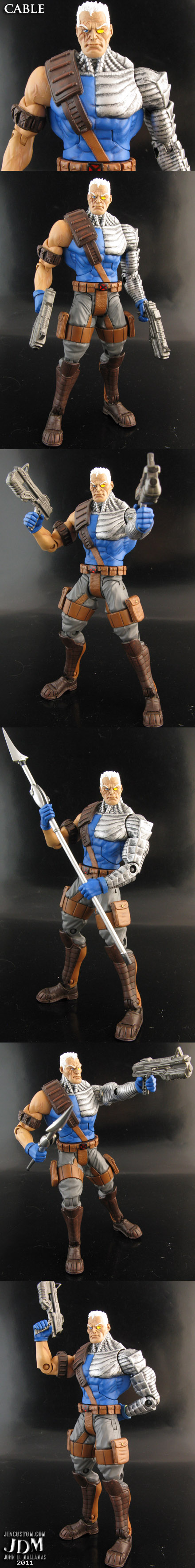 DC Universe style Cable by Jin-Saotome