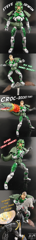 Croc Armor Steve Irwin by Jin-Saotome