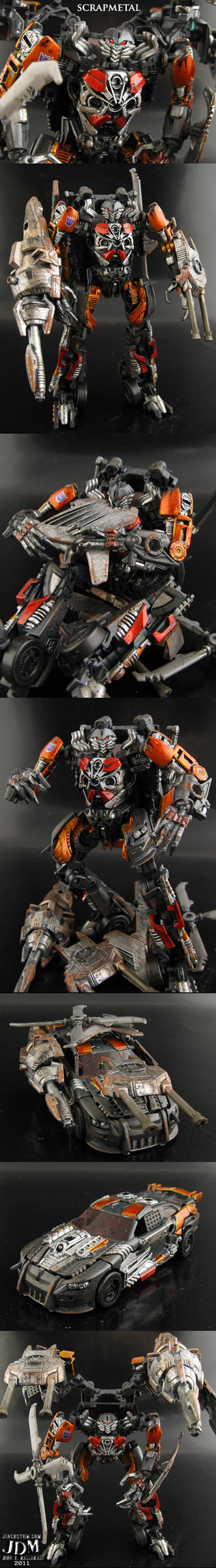 Custom Transformers Scrapmetal by Jin-Saotome