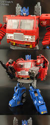 Generation Animation Optimus Prime by Jin-Saotome