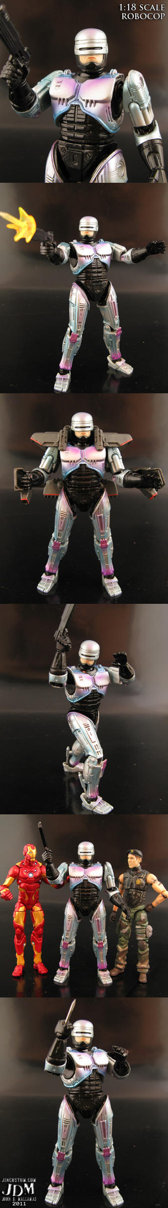 1:18 Robocop Figure by Jin-Saotome