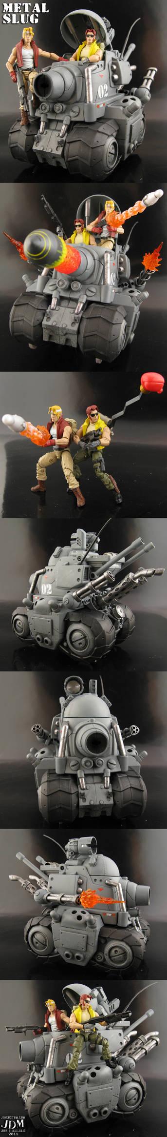 Custom Metal Slug Super Vehicle