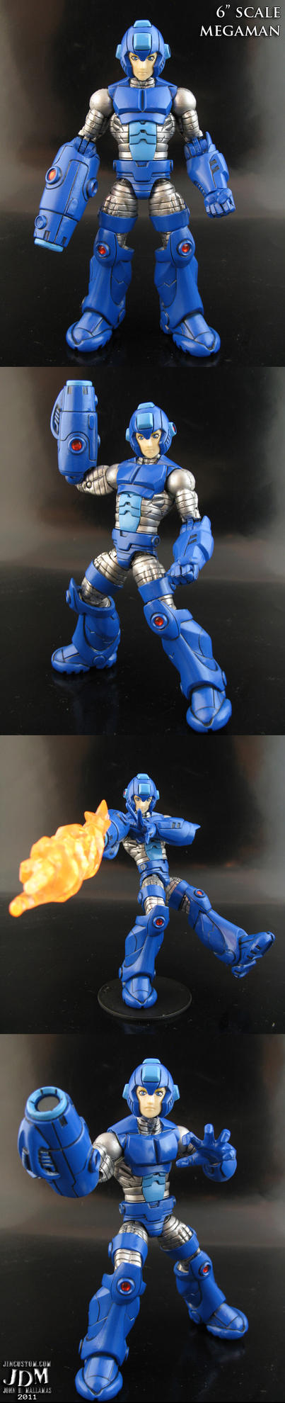 Megaman Marvel Legends part 1 by Jin-Saotome