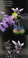 Dark Spyro by Jin-Saotome