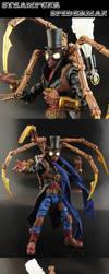 Steam Powered Arachnid Fellow by Jin-Saotome