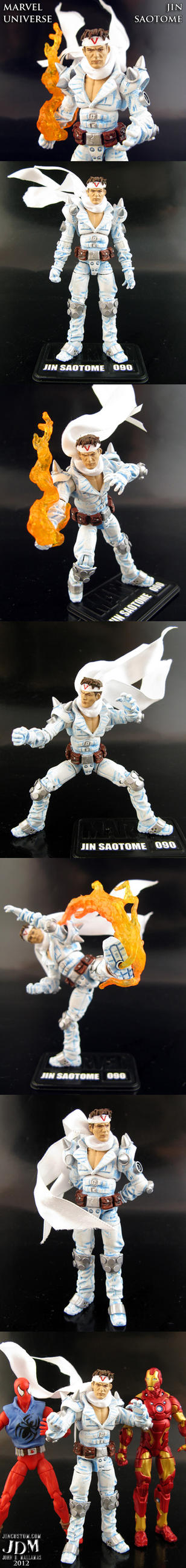 Jin Saotome Marvel Universe action figure by Jin-Saotome