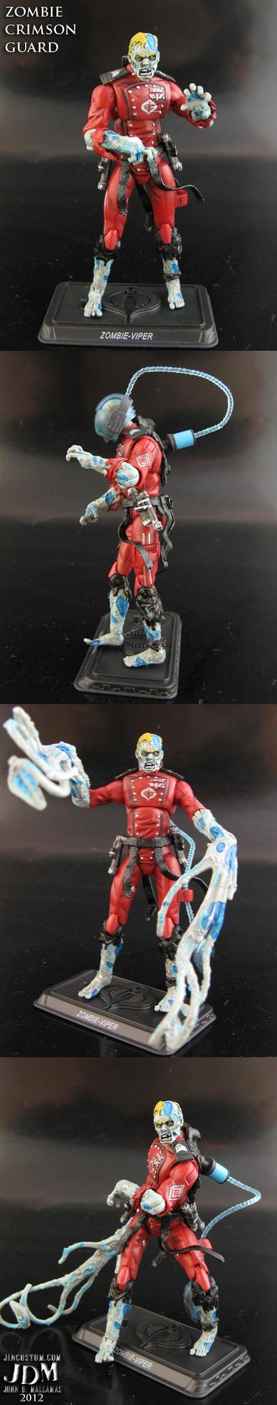 Cobra Zombie Crimson Guard by Jin-Saotome