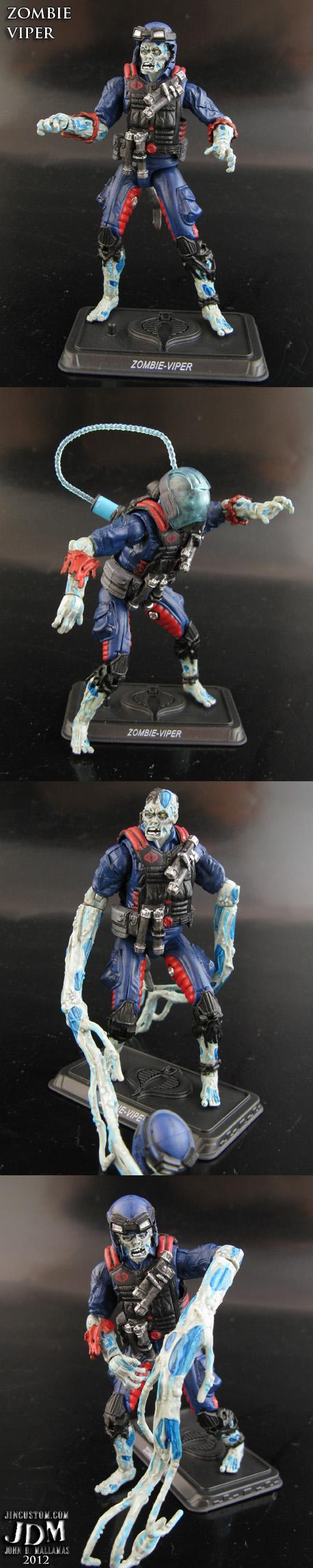 Cobra Zombie Viper Trooper by Jin-Saotome