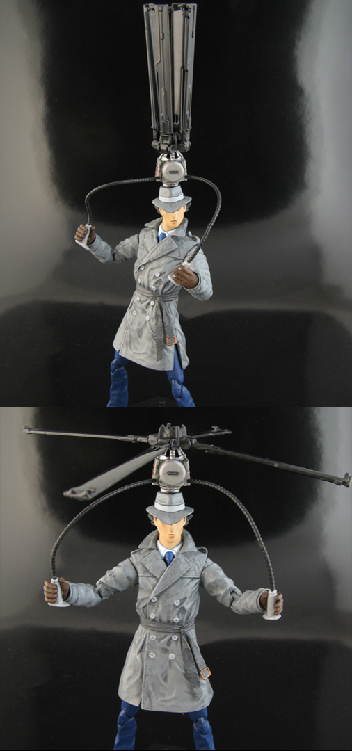 how to make an inspector gadget helicopter hat