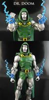 Modern Dr Doom Marvel Legends by Jin-Saotome