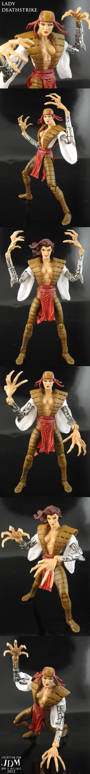 Lady Deathstrike Marvel legends by Jin-Saotome
