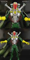 Avengers Movie style Vision Figure