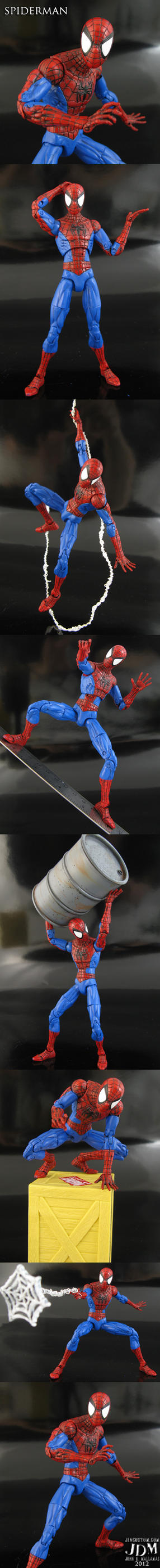 The Spectacular Spiderman Marvel Legends by Jin-Saotome