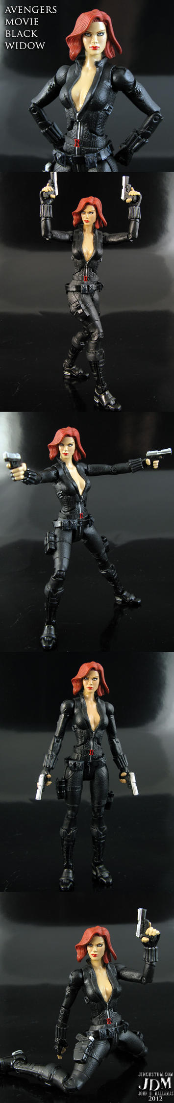Avengers movie Black Widow Marvel Legends by Jin-Saotome