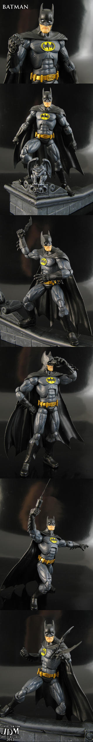 Super Articulated Batman six inch action figure by Jin-Saotome