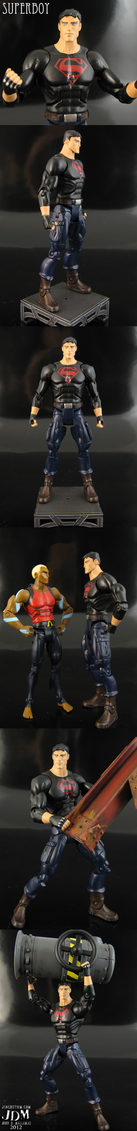 Young Justice Invasion Superboy Action Figure by Jin-Saotome