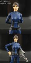 Avengers Commander Maria Hill figure