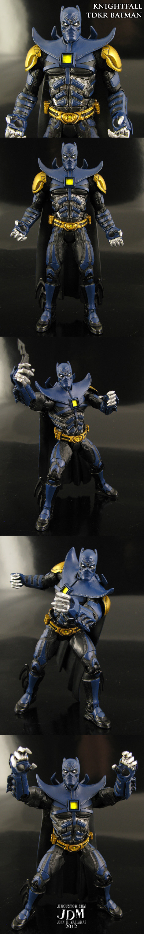 Knightfall Movie Masters Batman figure by Jin-Saotome