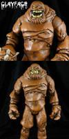 Custom DC Universe Clayface figure by Jin-Saotome