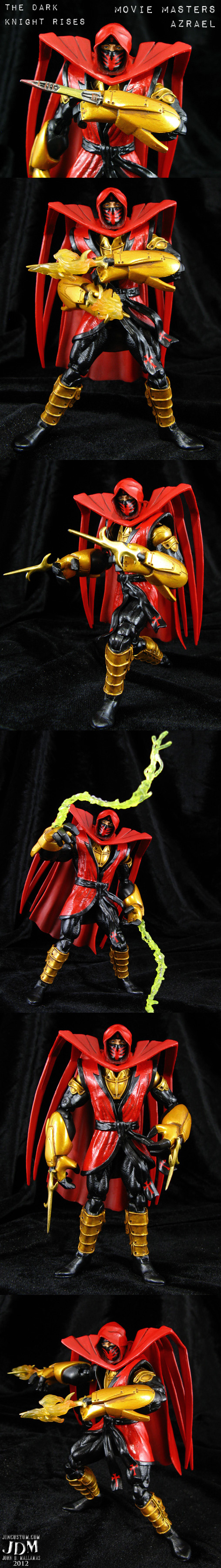 The Dark Knight Rises Azrael by Jin-Saotome